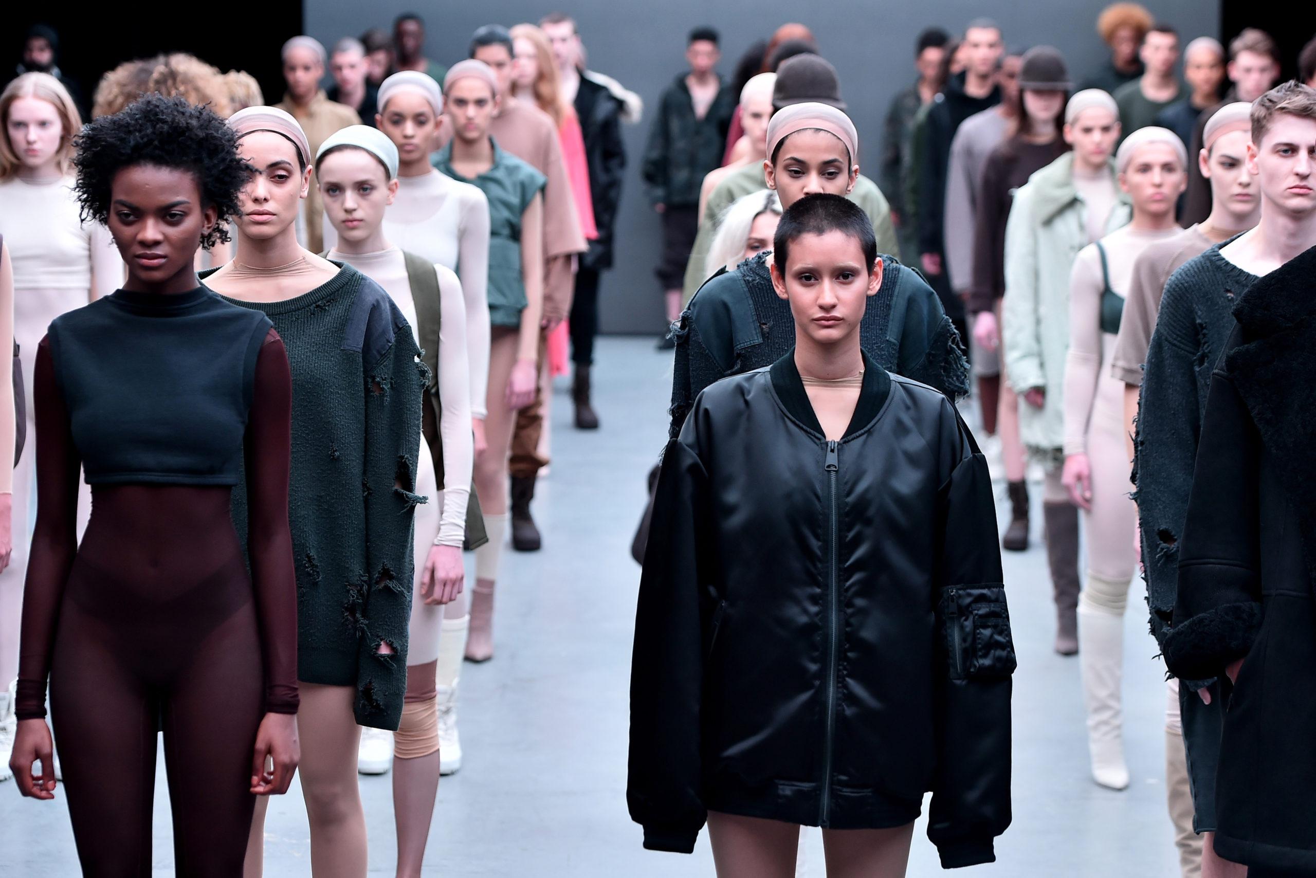 adidas Originals x Kanye West YEEZY SEASON 1 - Runway