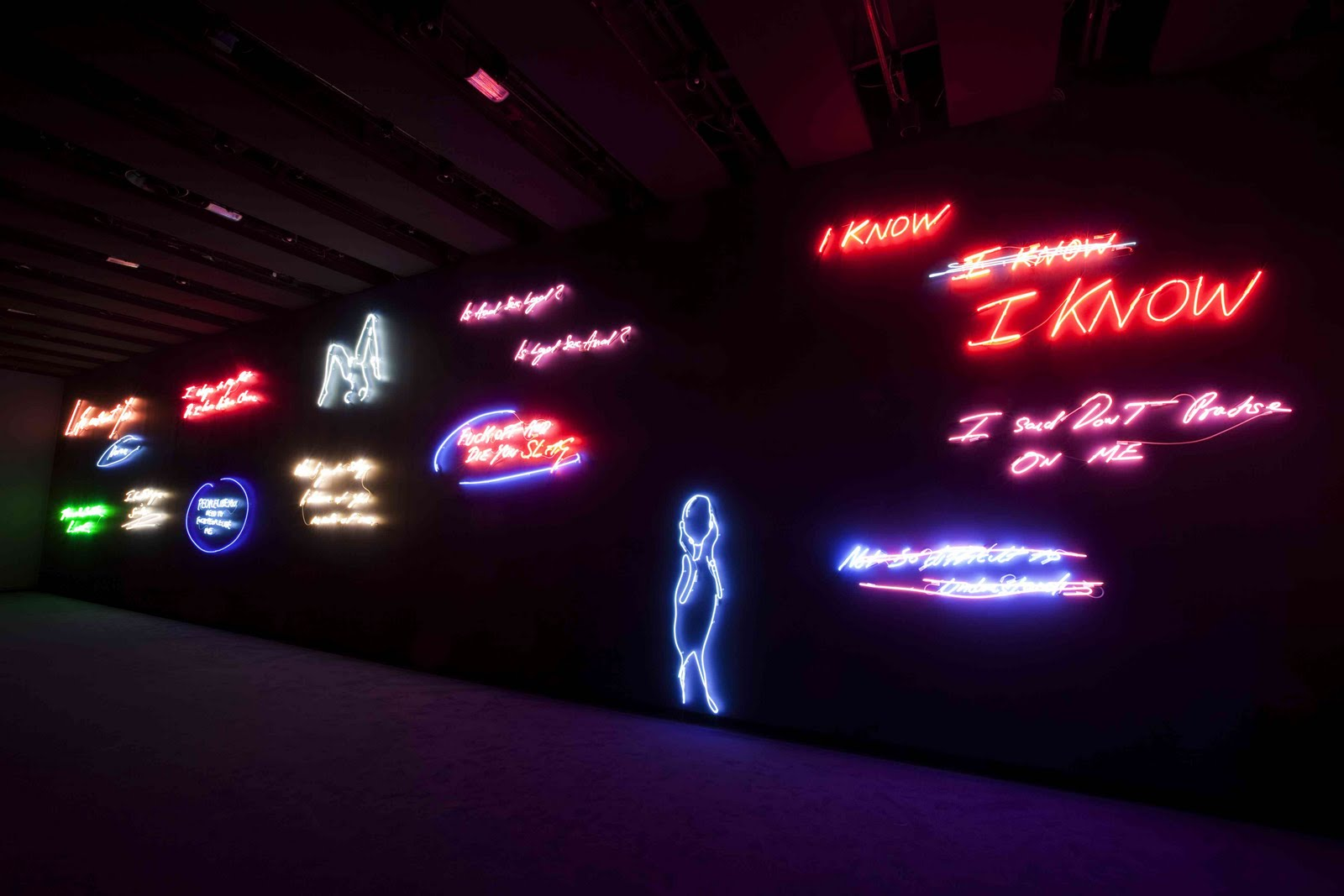 Tracey Emin Love is What You Want Hayward Gallery - photo_LOW RES