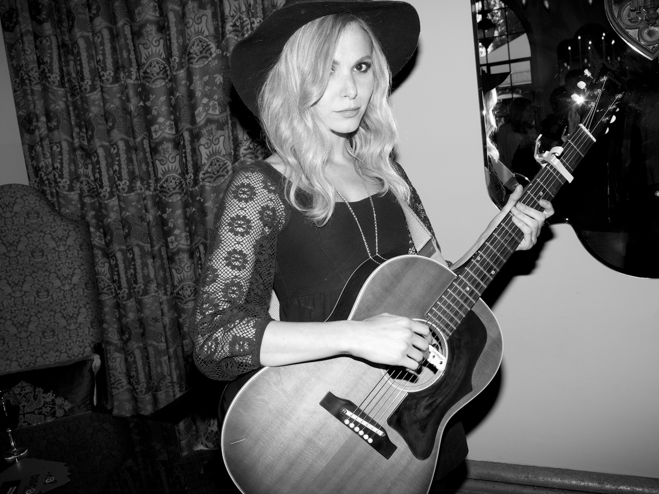 Z Berg at the Reception for 20 Years Of Freedom in South Africa with a performance by Z Berg at the Chateau Marmont in Los Angeles