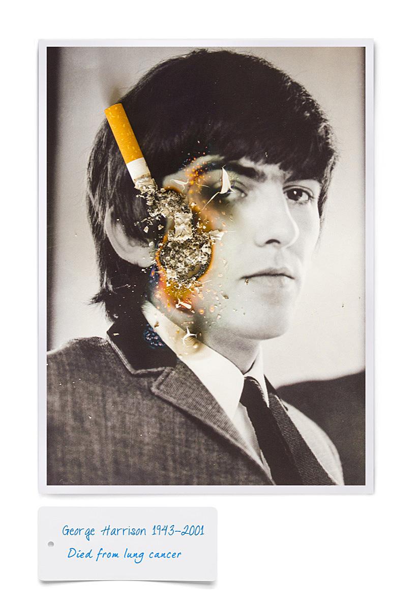 George+harrison+cigarette