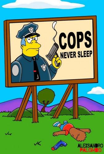 The-Simpsons-Black-Eric-Garner-Statue-of-Freedom-Homer-Simpson-Marge-Bart-Lisa-Clancy-Bill-De-Blasio-Police-Stop-Racism-12-731x1080-1
