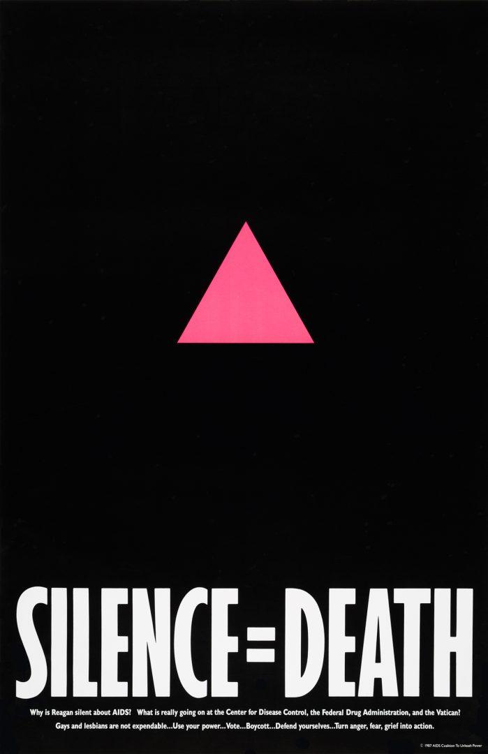 Silence=Death Project, Silence = Death, 1987.