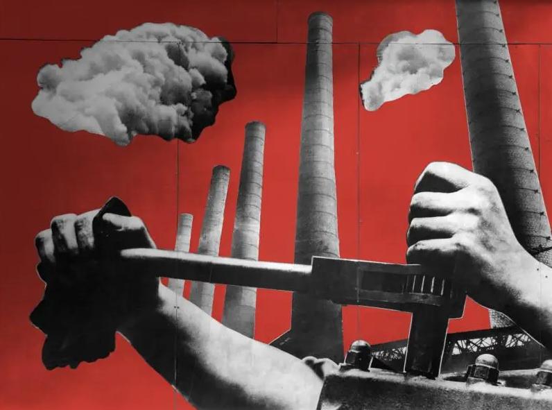 Charlotte Perriand, Fernand Léger, Photomontage pour le pavillon du ministère de l'Agriculture, Exposition internationale des arts et techniques de la vie moderne, Paris, 1937