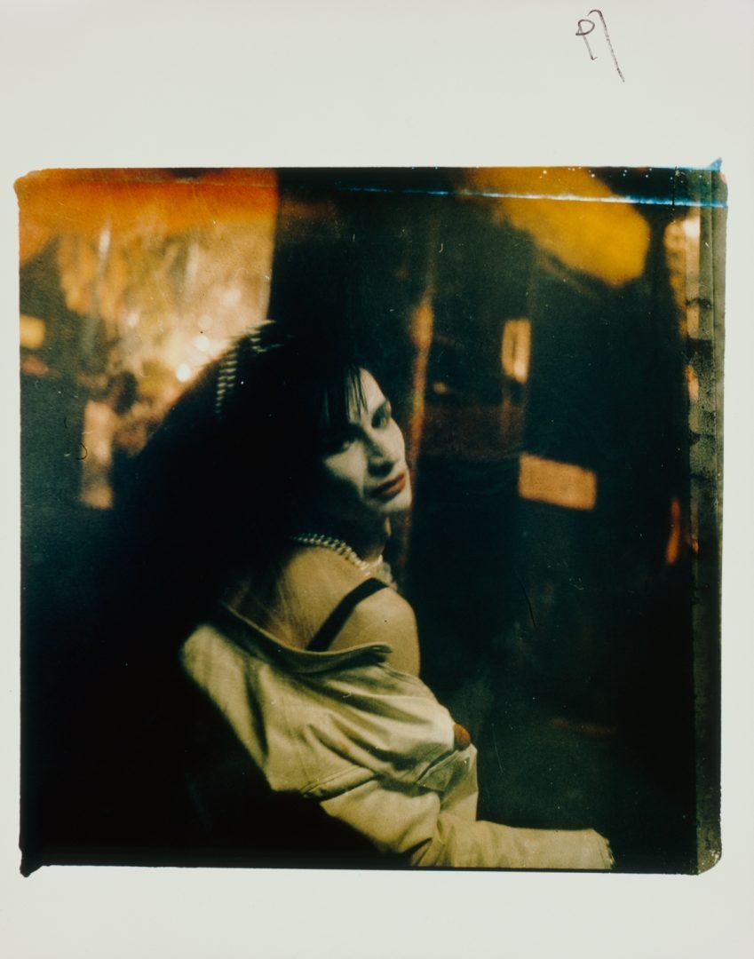 Mark Morrisroe, Sweet Raspberry/ Spanish Madonna, 1986.