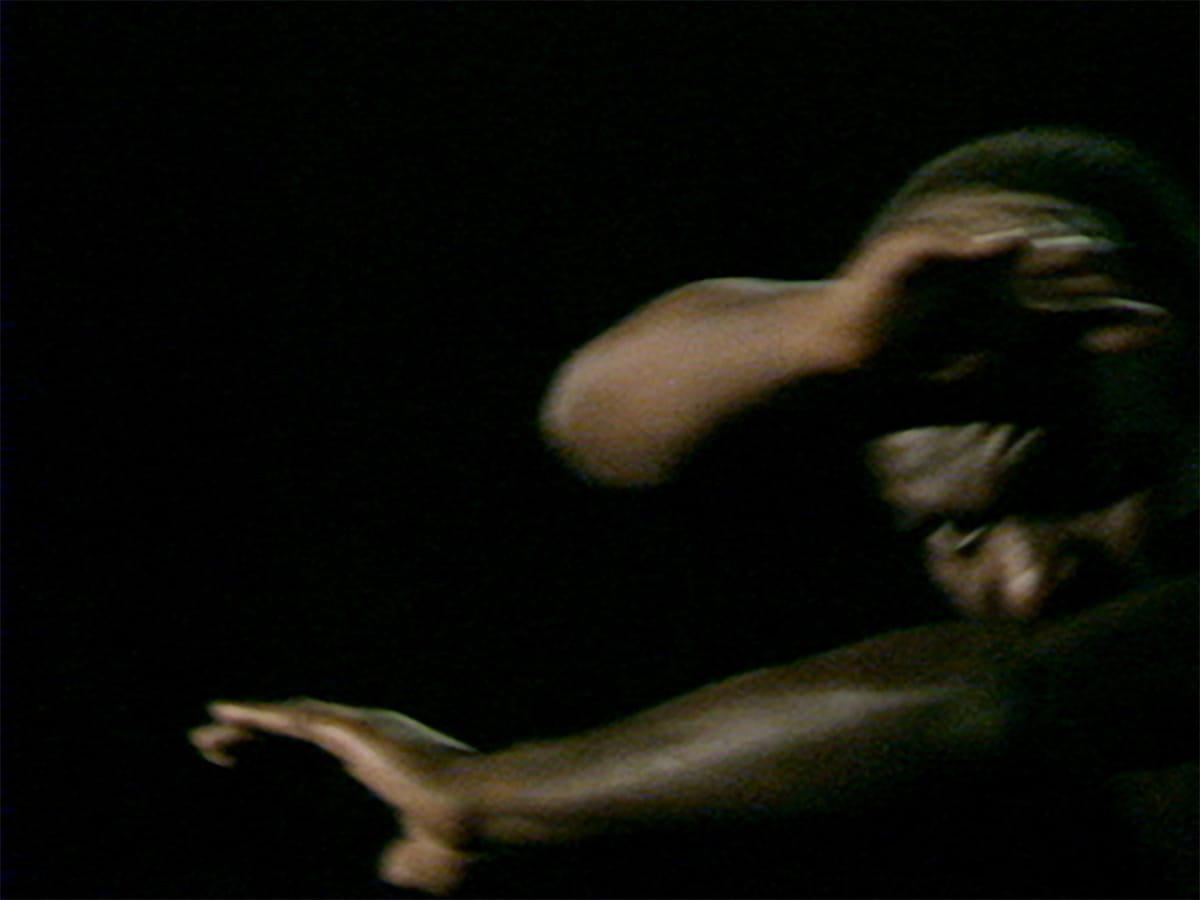 Production still from Marlon Riggs, Tongues Untied, 1989.